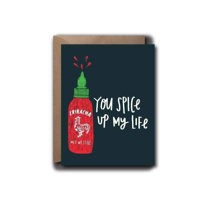 Spice Up My Life Love Greeting Card