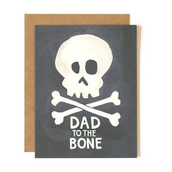 Dad To The Bone Father's Day Greeting Card