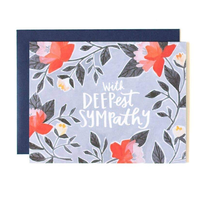 Deepest Sympathy Greeting Card Stationery
