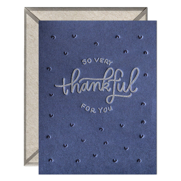 So Very Thankful greeting card