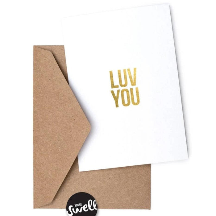 Luv You Card