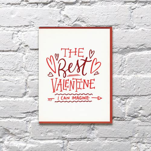Bench Pressed - Best Valentine I Can Imagine Card