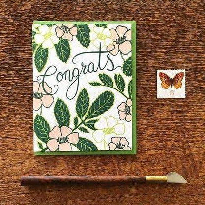 Congrats Flowers Card