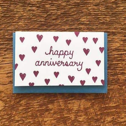 Happy Anniversary Mini Card