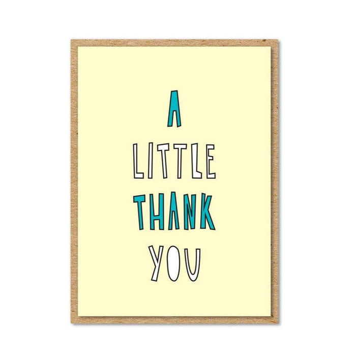 Little Thank You - Enclosure Card