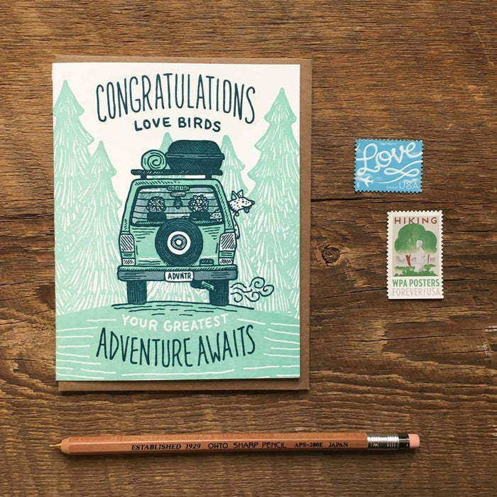 Congrats Adventure Card