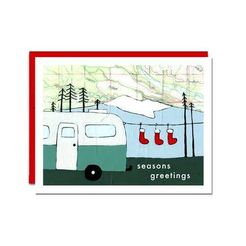 Stockings Card - Boxed Set of 6