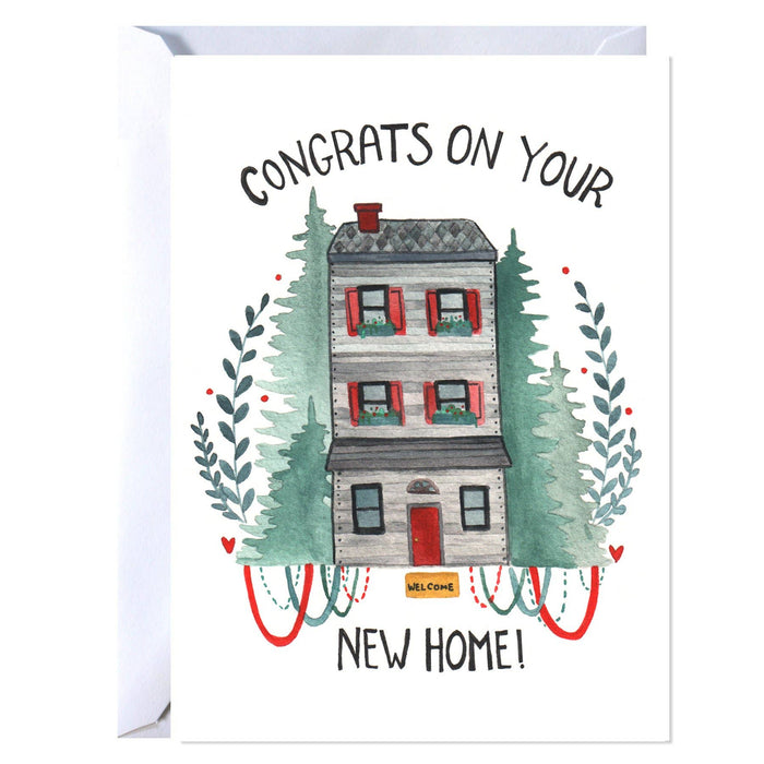 New Home Congratulations Card