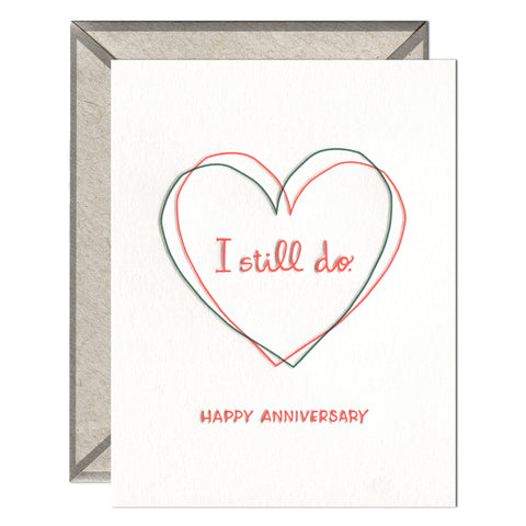 INK MEETS PAPER - I Still Do - greeting card