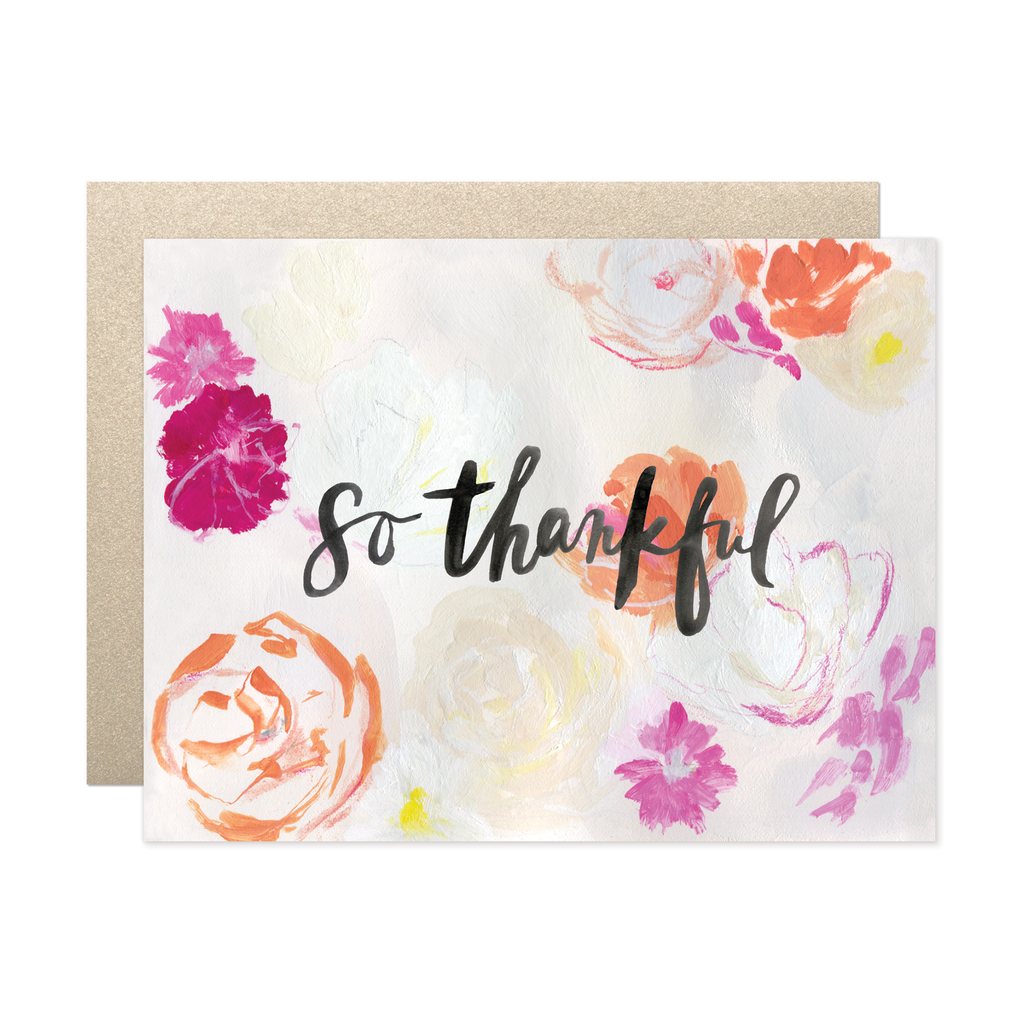 Our Heiday - So Thankful Card