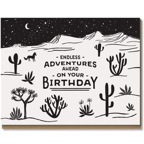 Paper Parasol Press - Endless Adventures Card