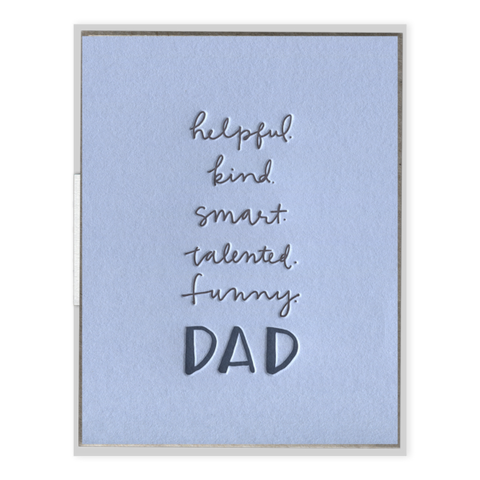 Dad Attributes