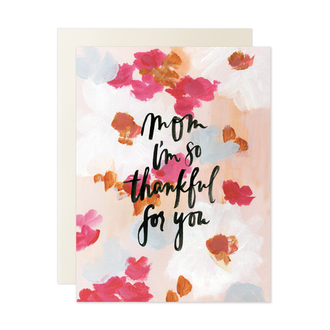 Our Heiday - Mom So Thankful For You Card