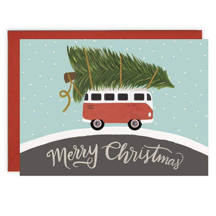 Christmas Car - Christmas Card