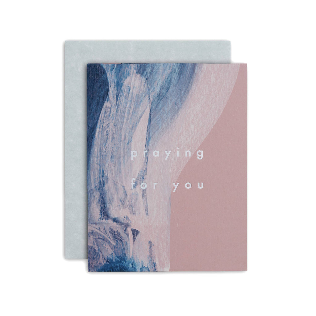 Praying For You Greeting Card