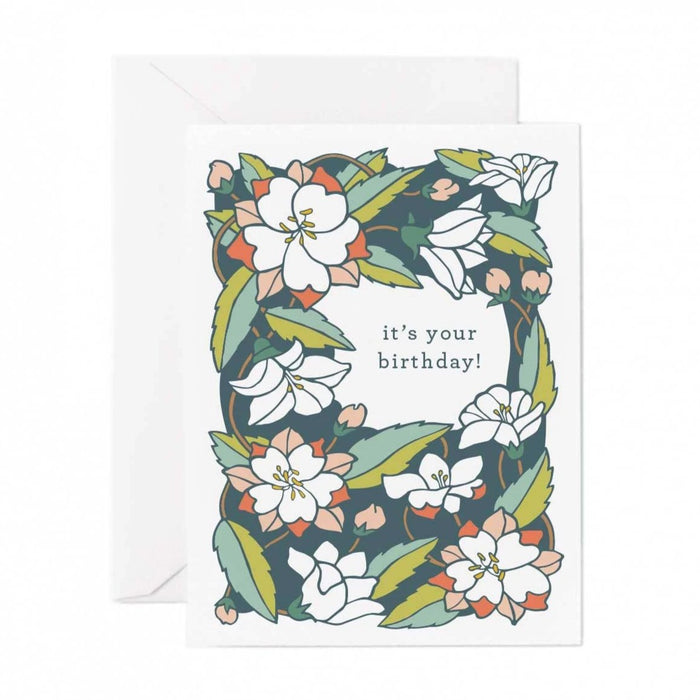 It's Your Birthday! Card - Chinese Bellflower