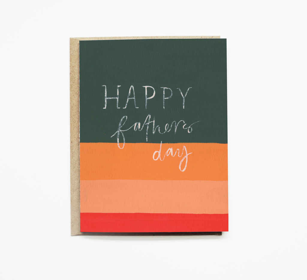 Pen + Pillar - Striped Father's Day Card