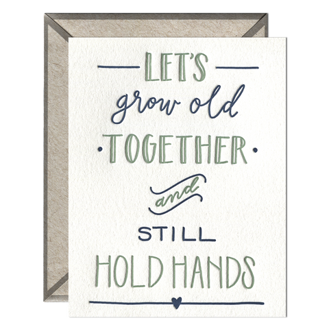 Hold Hands Card