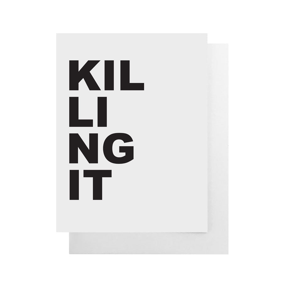 Cult Paper - Killing It Card