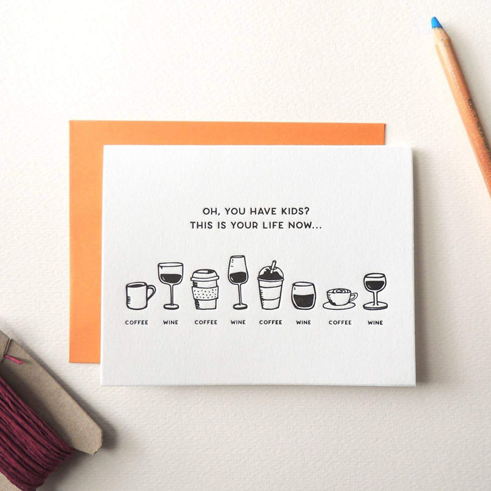 Coffee Wine Card