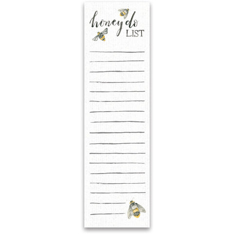 Honey to do list notepad