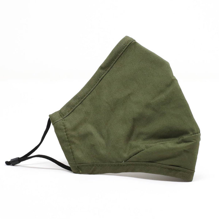 Army Green | Reusable Cotton Face Mask (THICK)