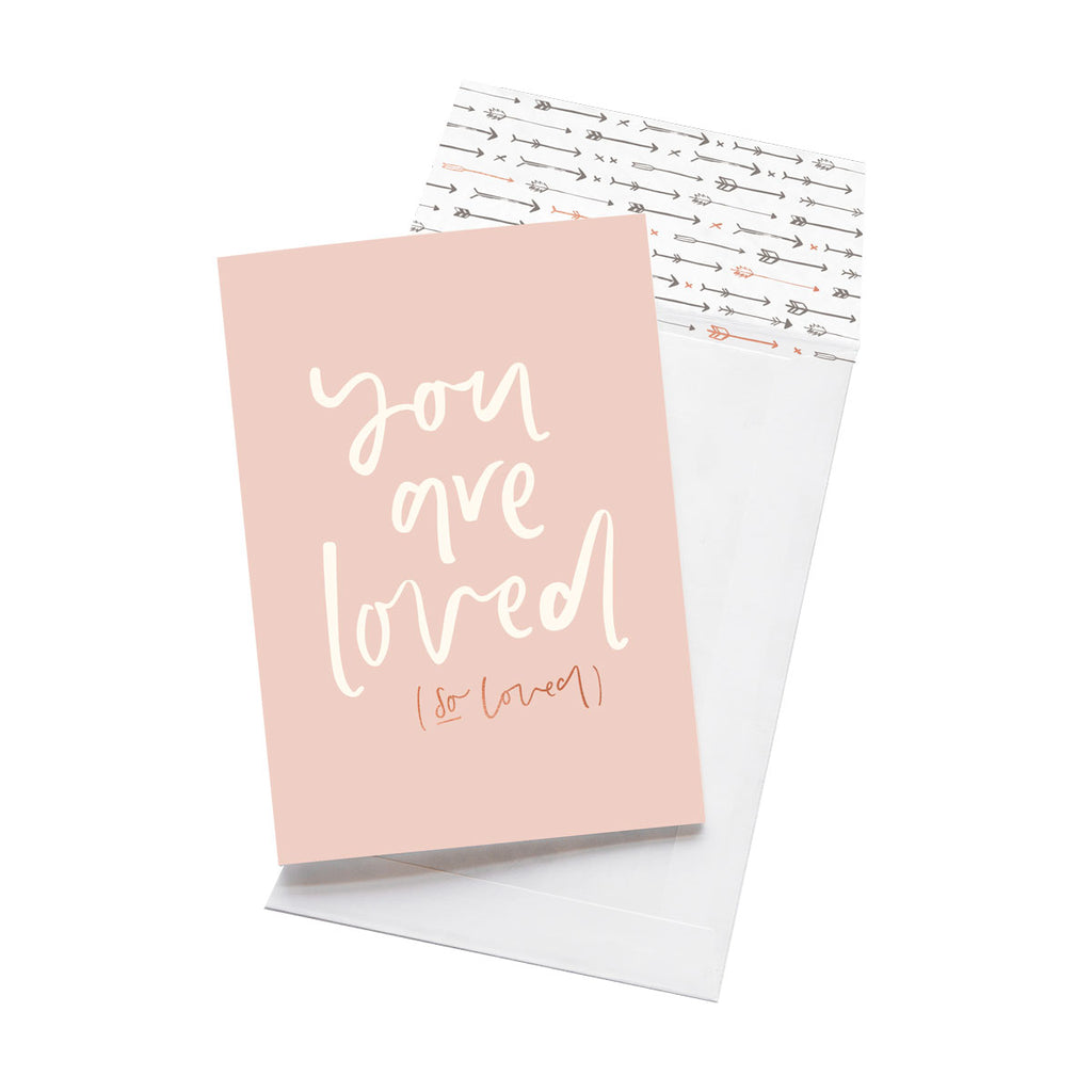 Emma Kate Co. - You Are Loved Greeting Card