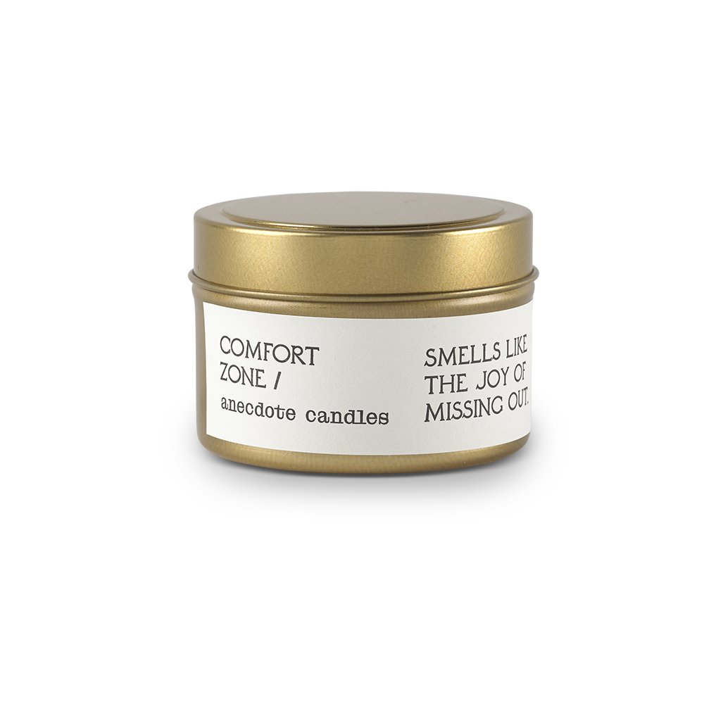 Comfort Zone Travel Tin Candle