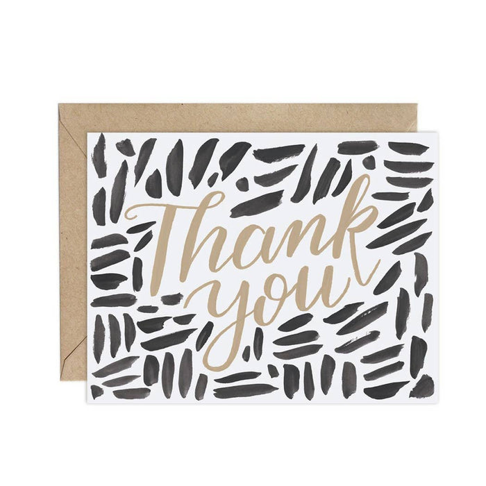 Weave (Pattern Party)- Thank You Card
