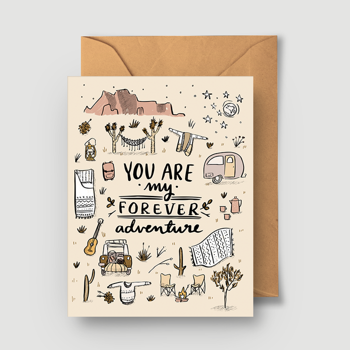Forever Adventure Greeting Card