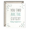 INK MEETS PAPER - You Two Are the Cutest - greeting card