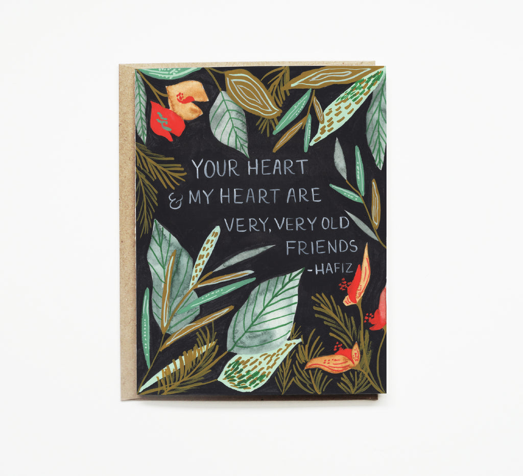 Pen + Pillar - Tropical Forest Love Card