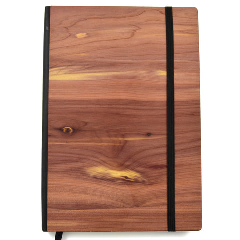 Autumn Summer Co - Wood Notebook