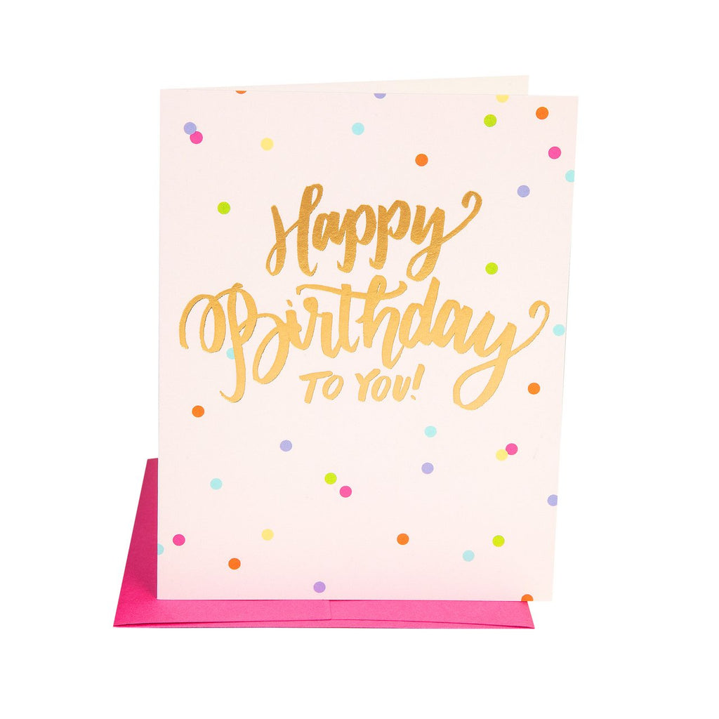 The Social Type - Happy Birthday To You Card