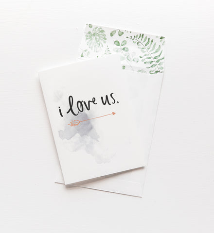 Emma Kate Co. - I Love Us Greeting Card