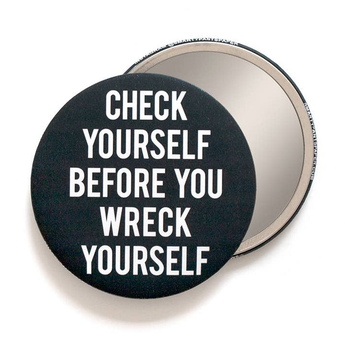 Check Yourself Pocket Mirror