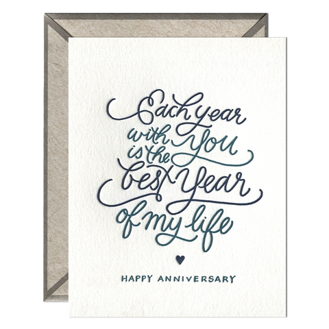 Each Year Card