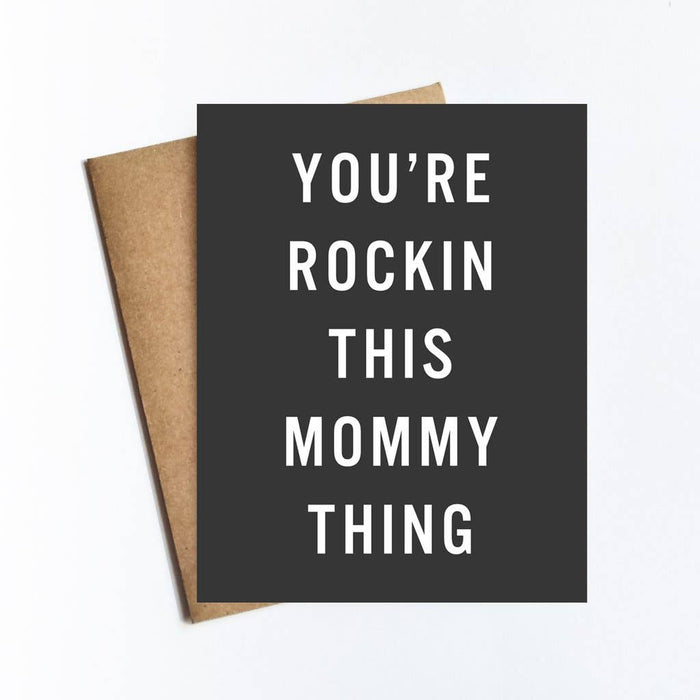 Mommy Thing Card