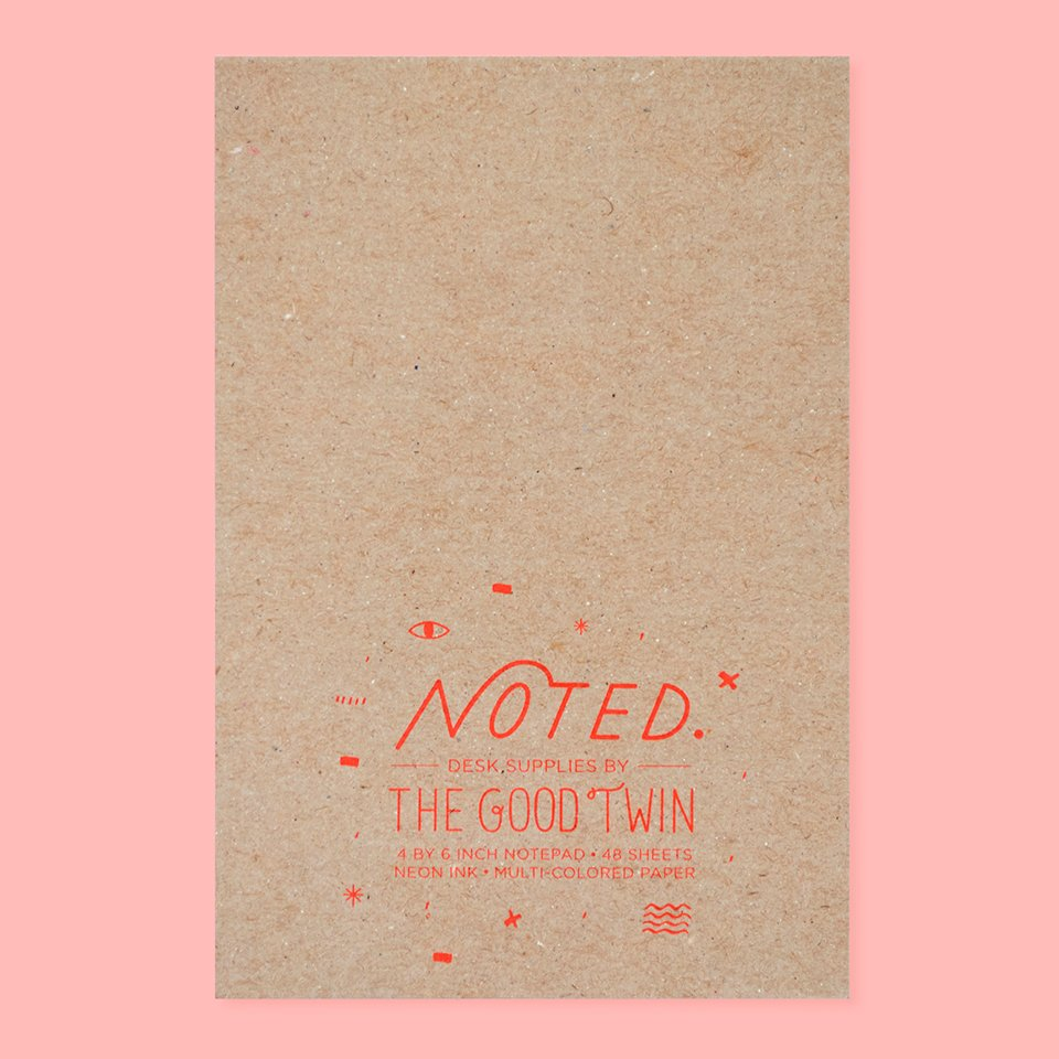 The Good Twin - Boss Notepad