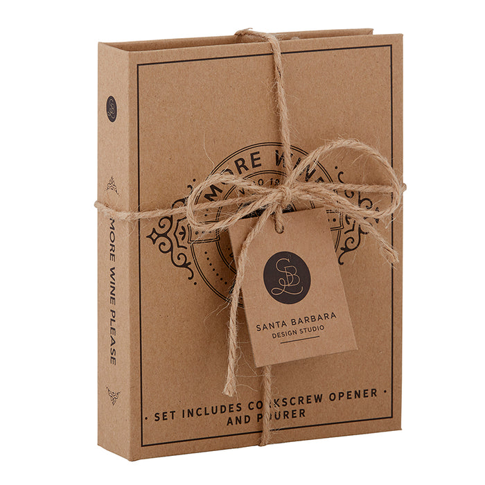 Cardboard Book Set - Wine