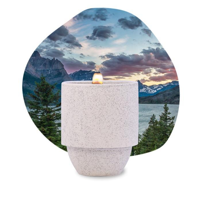 Glacier White Pine & Hemlock Paddywax Candle