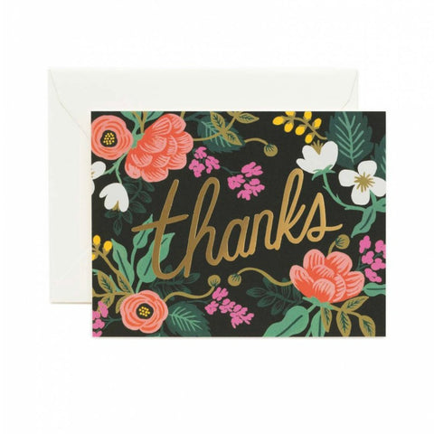 Bouquet of Thanks Card