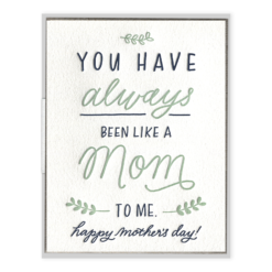 INK MEETS PAPER - Like A Mom - Greeting Card