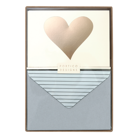 Boxed Notecard Set - Heart