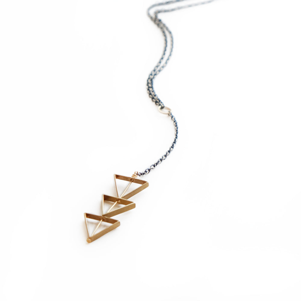 Larissa Loden Jewelry  - Tri Cut Necklace