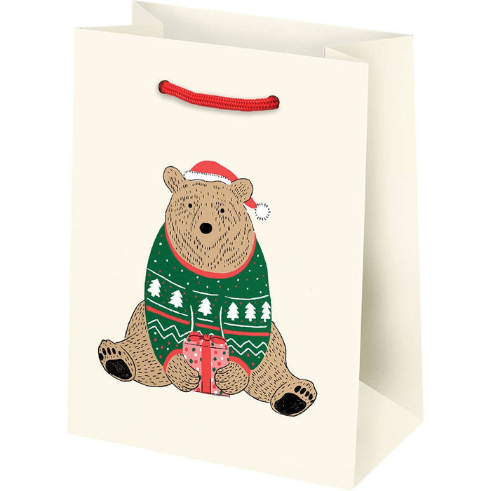 Holiday Bears Gift Bags
