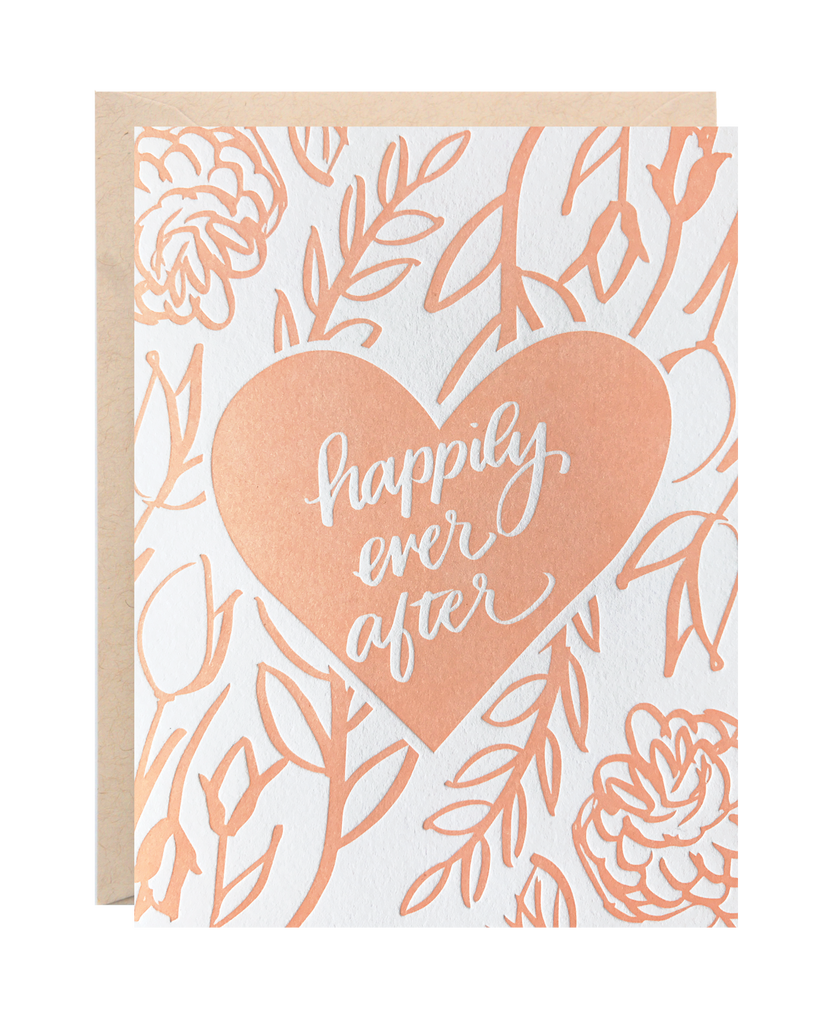 Lionheart Prints - Happily Ever After Greeting Card