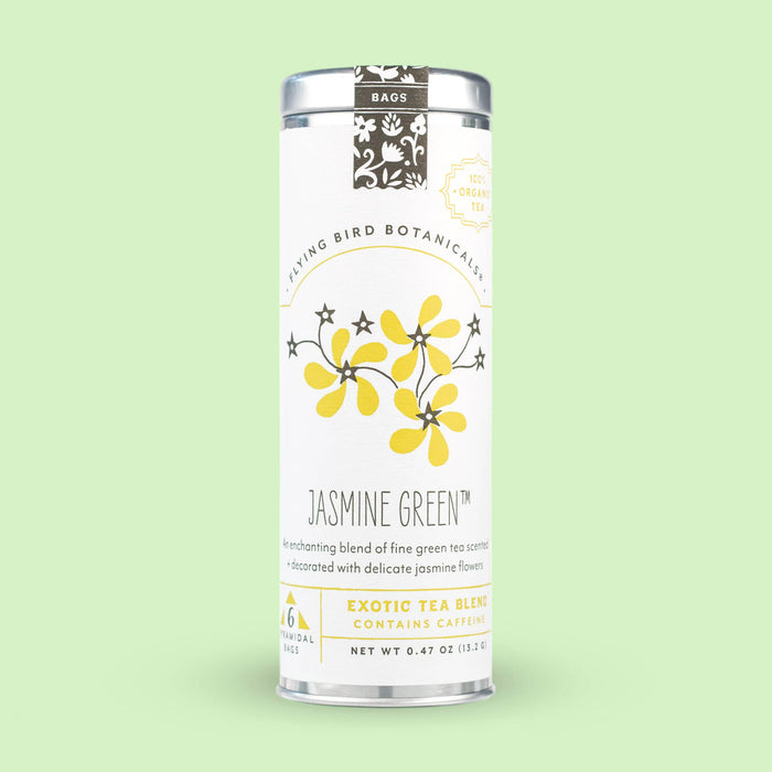 Jasmine Green – 6 Tea Bag Tin