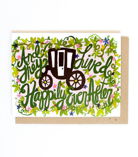 Thimblepress - Happily Ever After Single Card