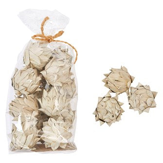 Handmade Dried Palm Leaf Artichoke